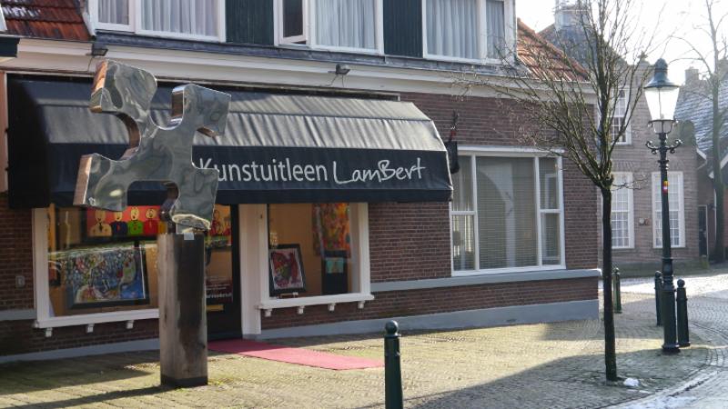 Expositie  van Trudy de Mooy, Loes Soffers, Anouk Slegers en Machteld Kuiper..