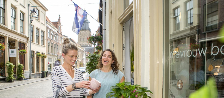 Shoppen in Hanzestad Zutphen