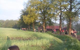 Dauwtrap fietstocht