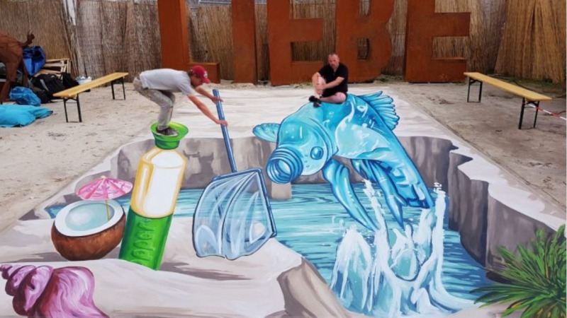 3D Street paintings