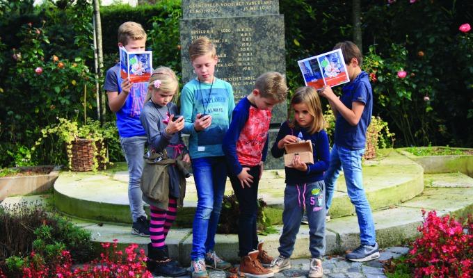 Kinderschatkaart Noordoost-Twente: zwemmen, klimmen en schatzoeken