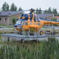 Helikopter bij 't Akkertien