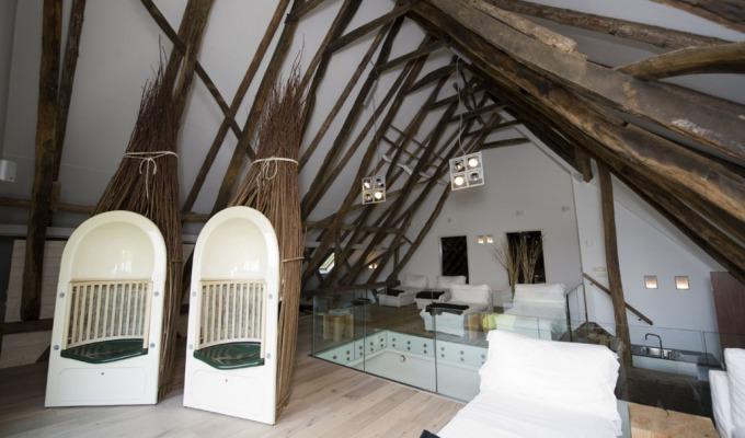 Luxe spa in oude boerderij: Boerderij Spa Nutter. Wellness tussen de koeien