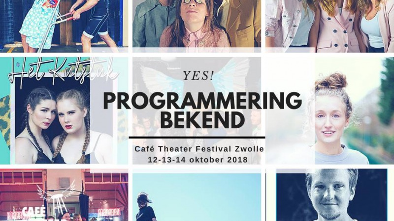 Cafe Theater Festival Zwolle