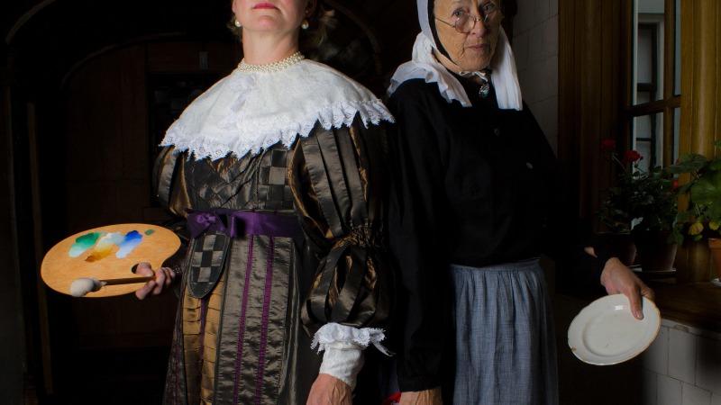 Theaterrondleiding Twee vrouwenlevens in het Vrouwenhuis