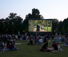 Open Air Cinema in Park Singraven