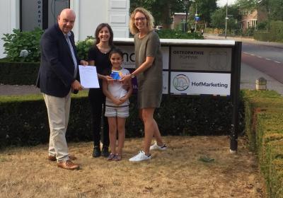 Familie Arshid uit Delden wint VVV Cadeaukaart!