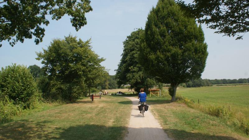 VVV Landleven fietstocht  De Lutte