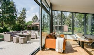 Luxe lodges bij Vakantiecentrum 't Schuttenbelt