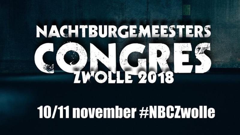Nachtburgemeesters Congres Zwolle 2018