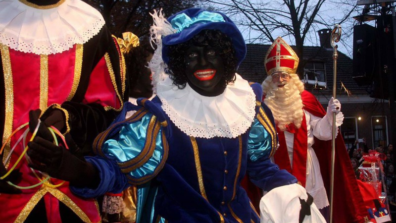 Sinterklaas in  Twenterand.