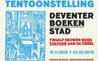Dubbeltentoonstelling rijke boekhistorie Deventer