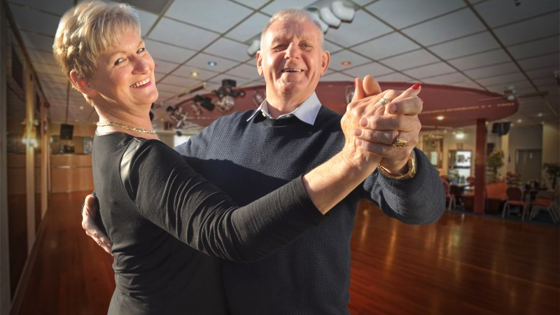 Dansen in Almelo was dansen bij Veenstra