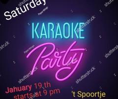 Karaoke avond bij Café 't Spoortje