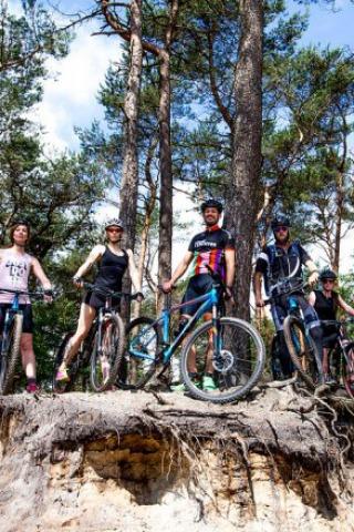 Mountainbiking in Salland