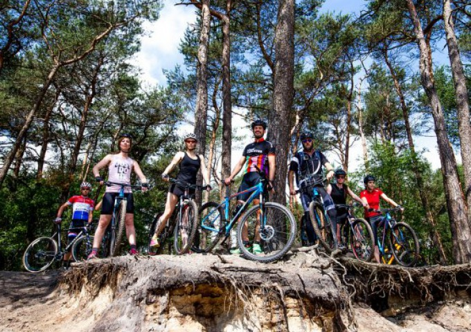 Mountainbiking in Salland