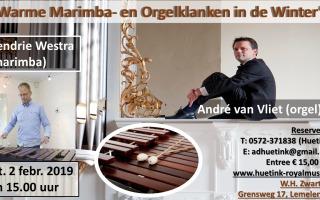Warme Marimba- en Orgelklanken in de Winter