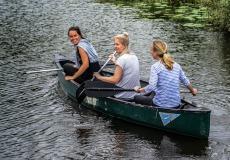 Natuurlijk overnachten met kano of sloepje varen