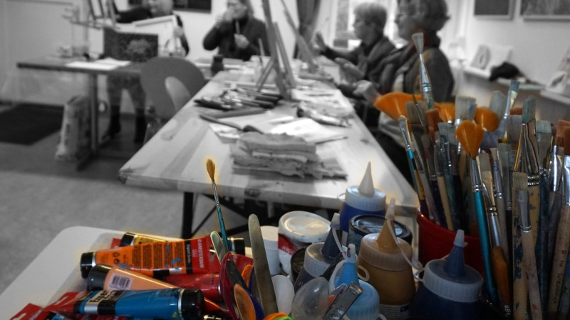 De kunstenaars aan de Herengracht