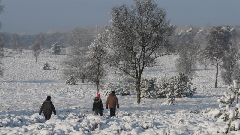 Winterwandeling met snert