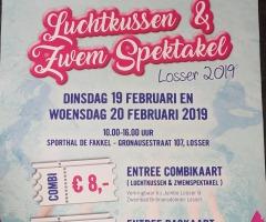 Luchtkussen  & Zwem Spektakel Losser
