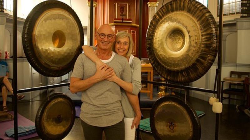Yoga en gongbad met Spirit Connection