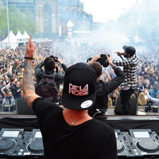 DJ De La Noise en MC EnDoWy