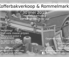 Kofferbakverkoop En Rommelmarkt