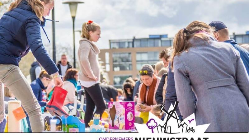 Kleedjesmarkt Nieuwstraat