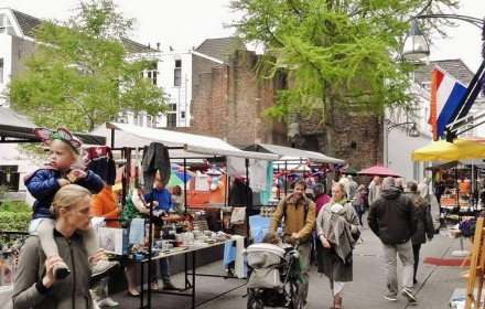 Zomermarkt Lamme van Dieseplein