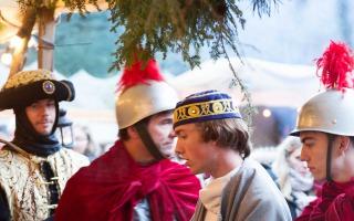 Kerstevent Wandeltheater Harderwijk