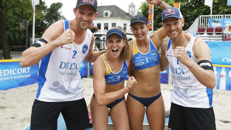 Voorrondes & halve finales Dela Eredivisie Beach!