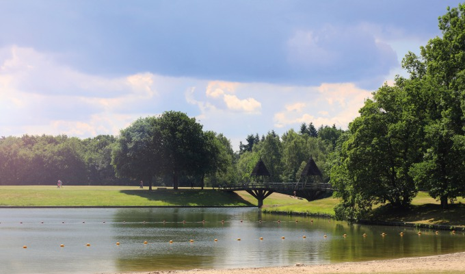 Prachtige plekken waar de zon het langst schijnt: de recreatieparken.