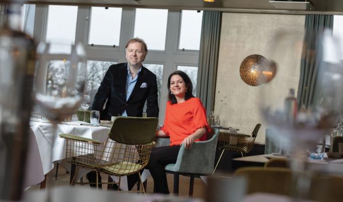"""Githa en Boudewijn van Vilsteren zijn geaard in Twente: """"Nooit meer terug""""."""