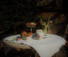 Op de thee bij tante Migchorius