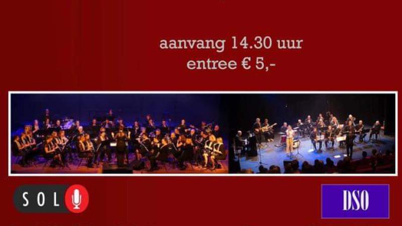Moederdagconcert:  Deventer Swing Orkest en Stedelijk Orkest Lebuinus