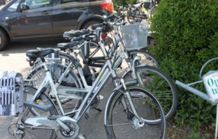 Open tuinen fiets-en autoroute