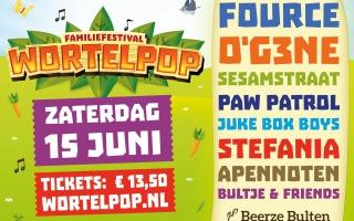 Wortelpop 2019 | 14-15-16 juni