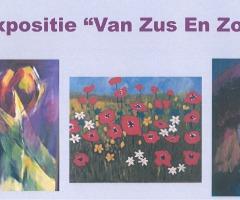 """Expositie """"Van Zus En Zo!"""