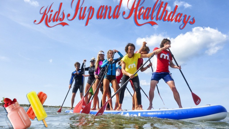 Kids Sup and Healthday