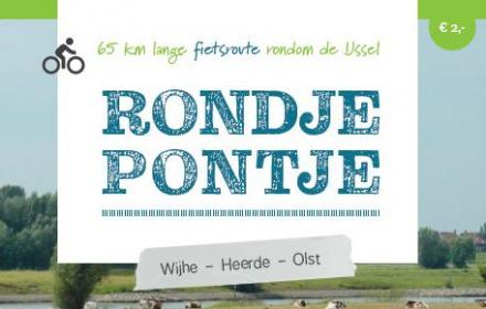 Rondje – Pontje nieuwe fietsroute Wijhe-Heerde-Olst