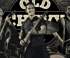 """ROCK & ROLL BAND UIT BRAZILIË """"OLD CHEVY"""" IN CAFÉ HOLTHUIS WESTERHAAR"""