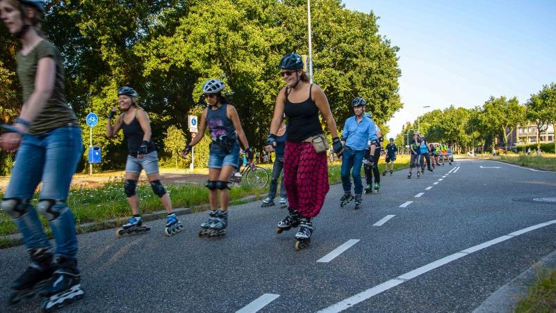 Skaten met een rode neus - Night Skate Zwolle  'Special Edition' voor CliniClowns