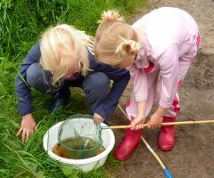 Kinderactiviteit 'Waterbeestjes' Dal van de Mosbeek