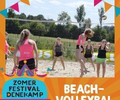 Beachvolleybal voor jong en oud