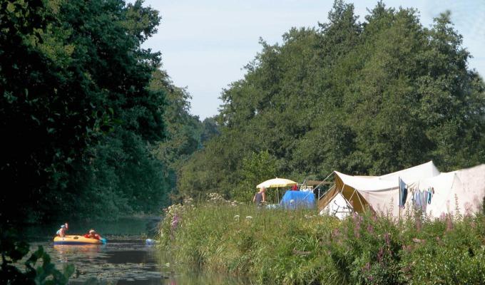 Ultiem geluk: kamperen met kano / kanokamperen