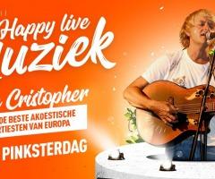 Live muziek: Brian Christopher op 2e Pinksterdag