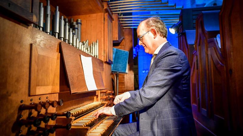 Harm Hoeve: Orgelconcert op Prinsjesdag