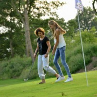 Short golfen in Tubbergen