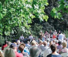 Openluchtconcert 'Trompetenbaum en Geigenfeige'
